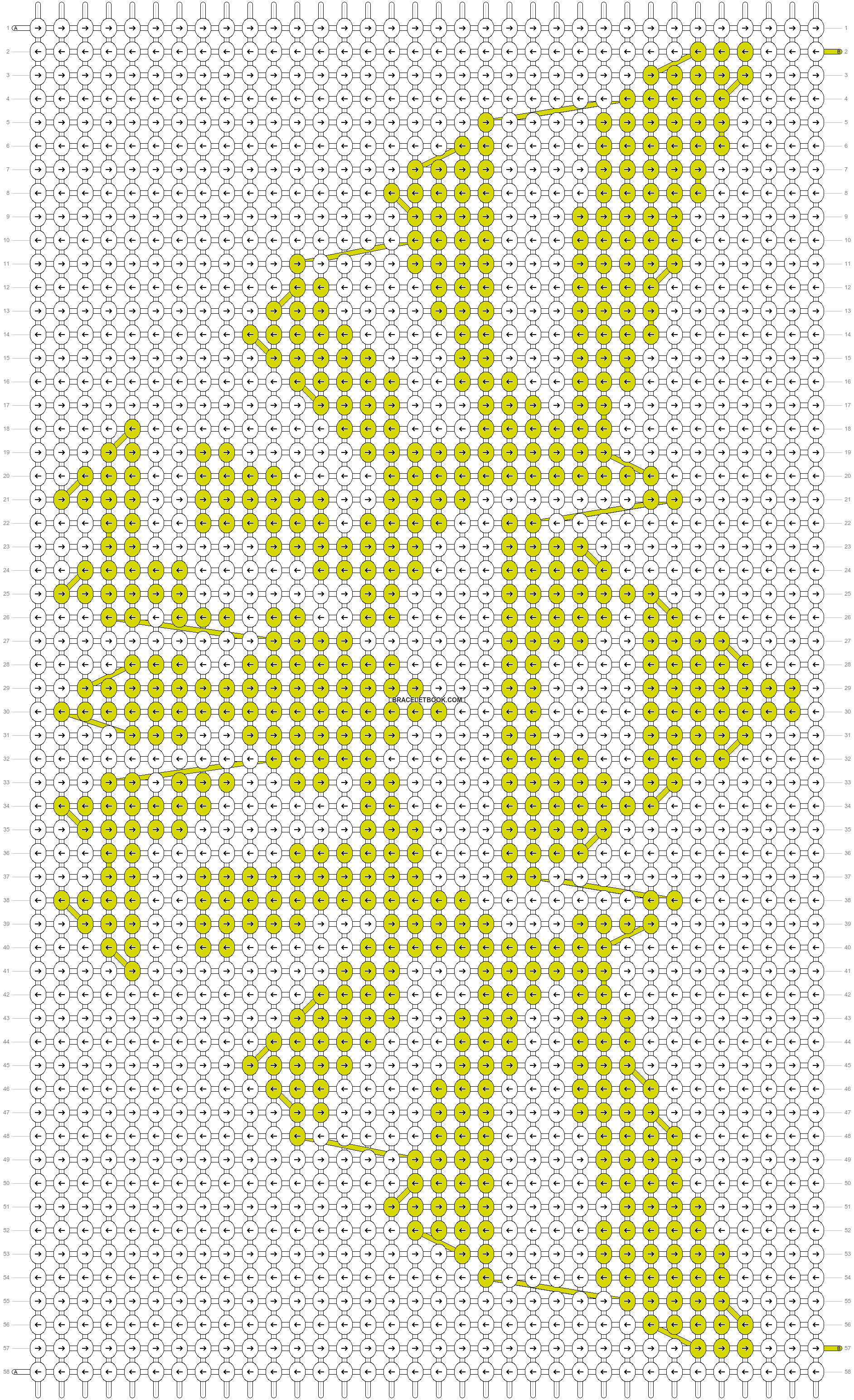 Alpha pattern #4014 pattern