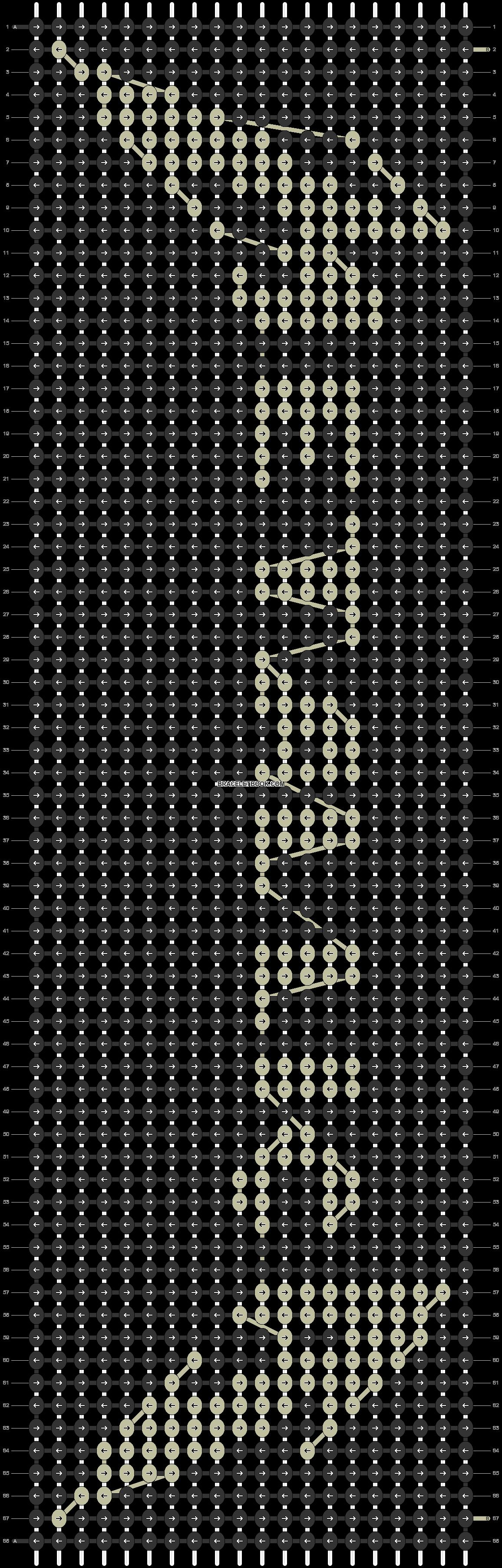 Alpha pattern #4015 pattern