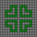 Alpha pattern #4024