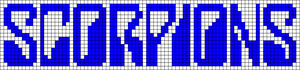 Alpha Friendship Bracelet Pattern #4025