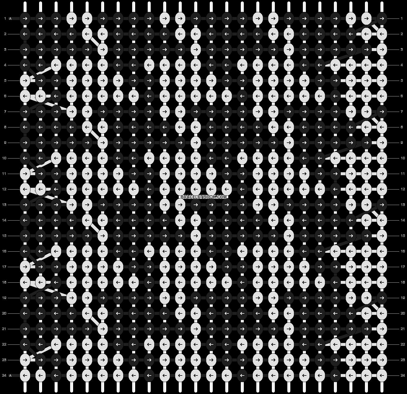 Alpha pattern #4029 pattern