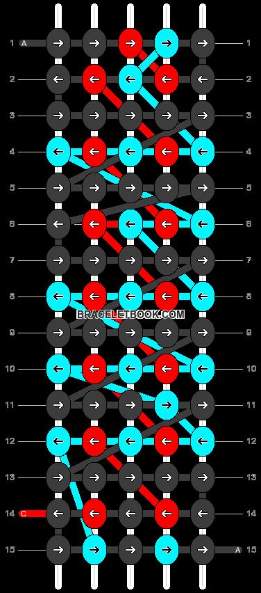 Alpha pattern #4030 pattern