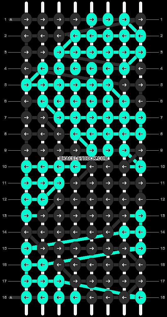 Alpha pattern #4032 pattern