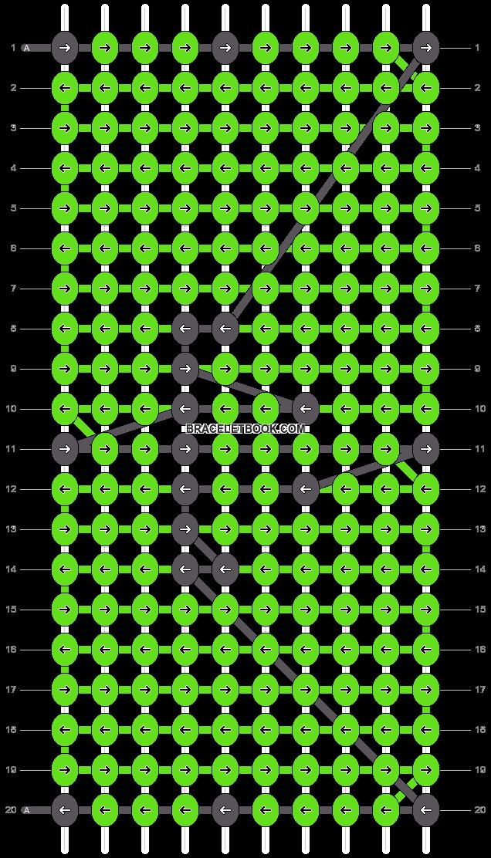 Alpha pattern #4036 pattern