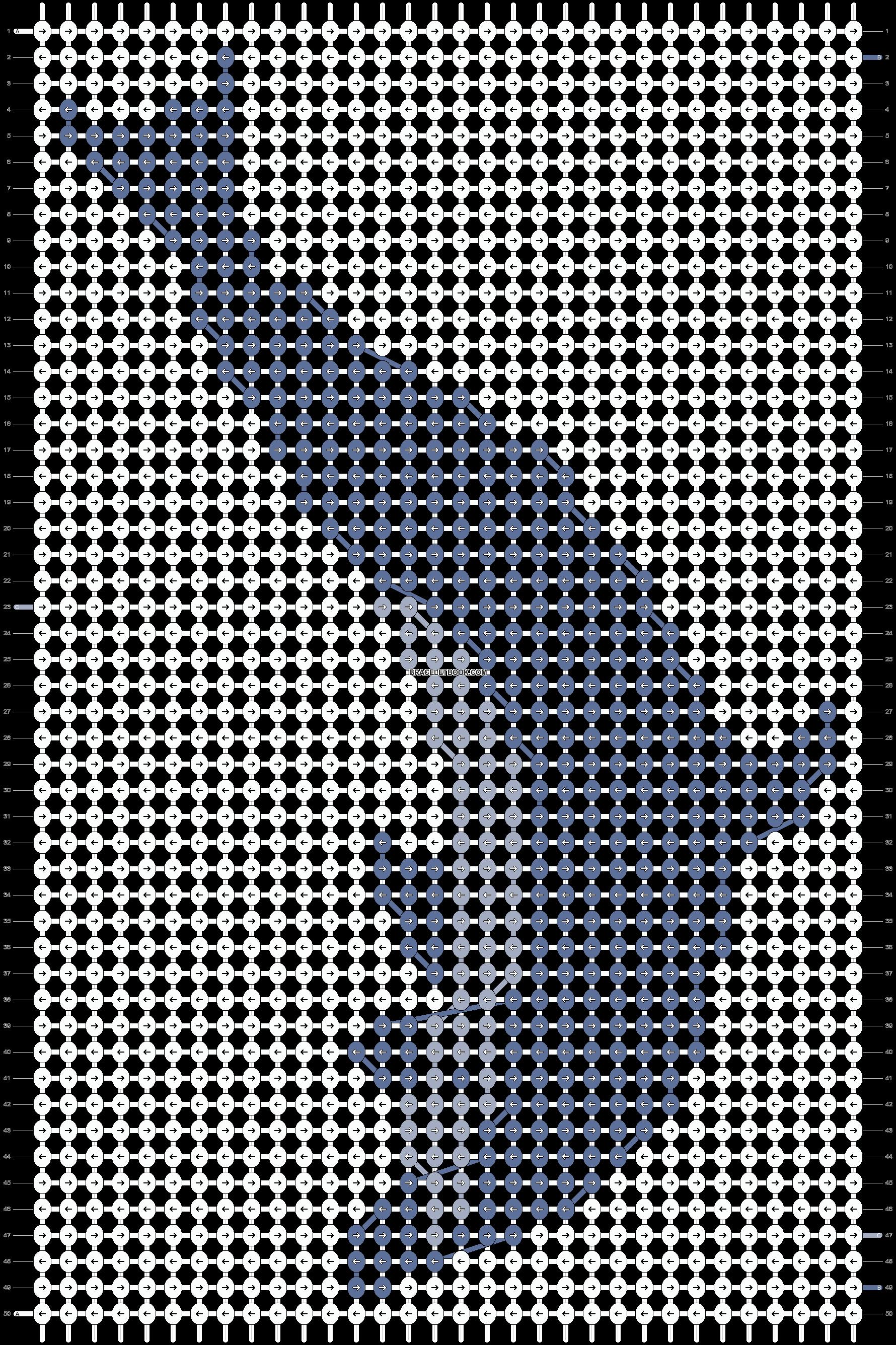 Alpha pattern #4041 pattern