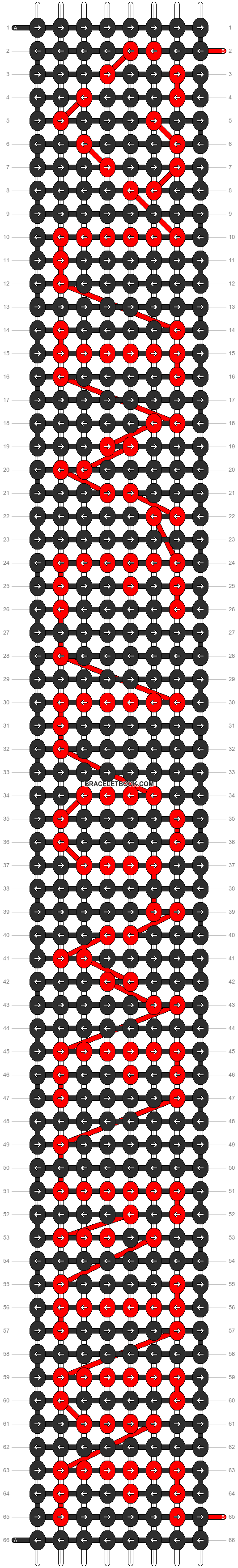 Alpha pattern #4046 pattern