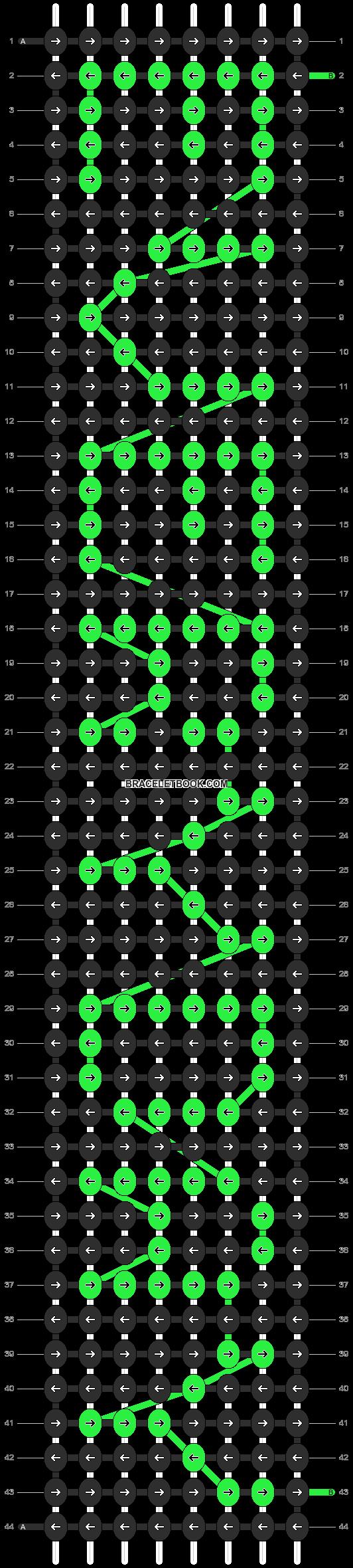 Alpha pattern #4055 pattern