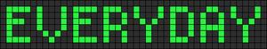Alpha pattern #4055