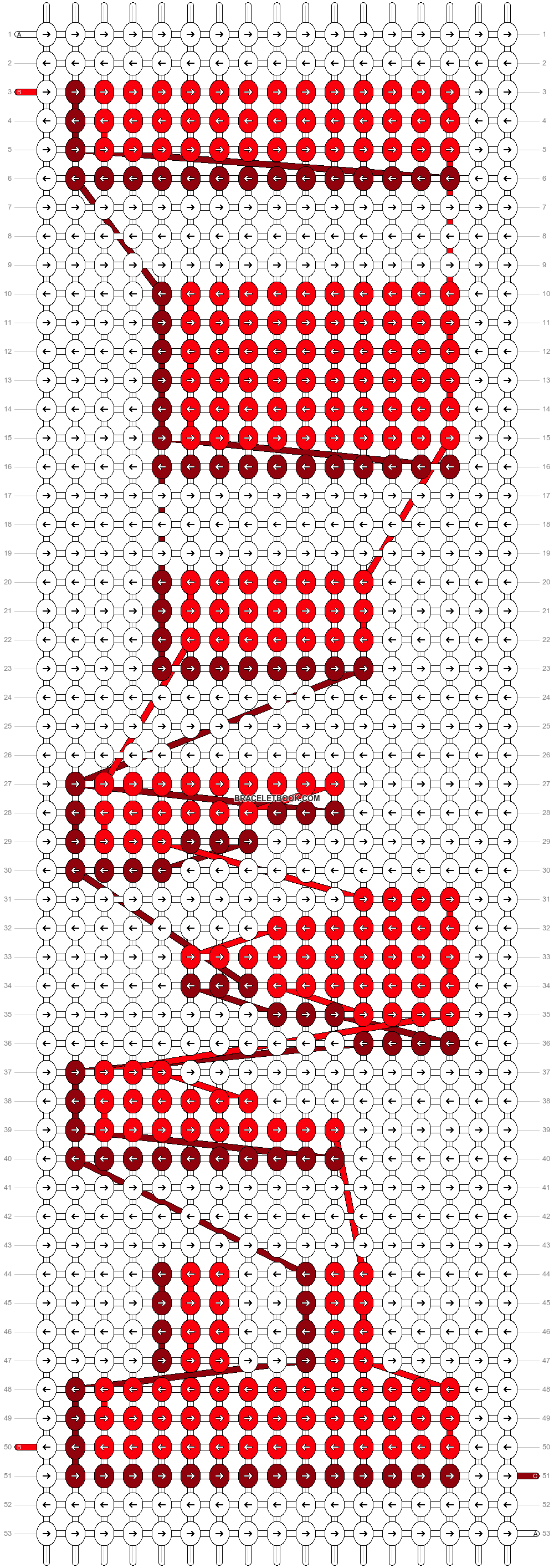 Alpha pattern #4057 pattern
