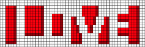 Alpha pattern #4057