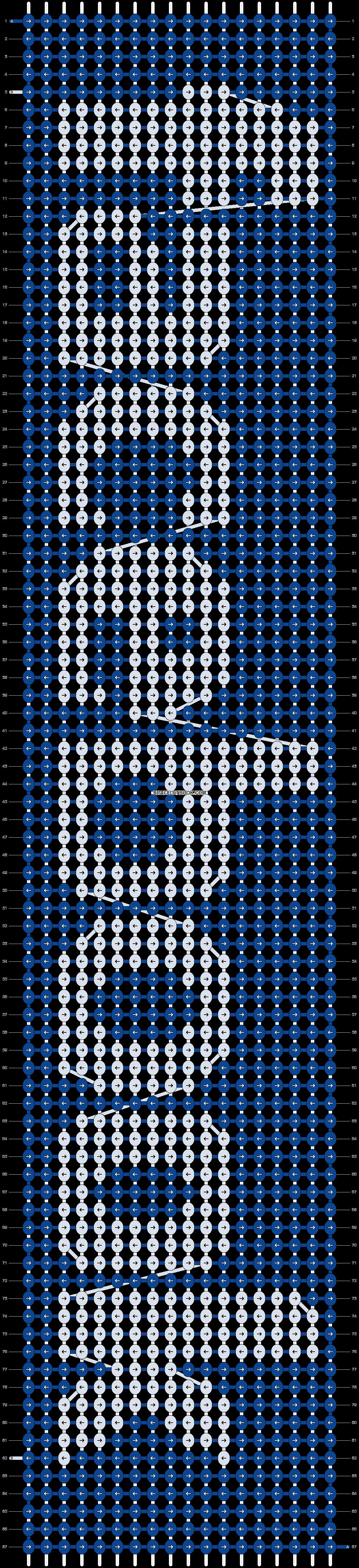 Alpha pattern #4070 pattern