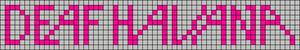 Alpha pattern #4087