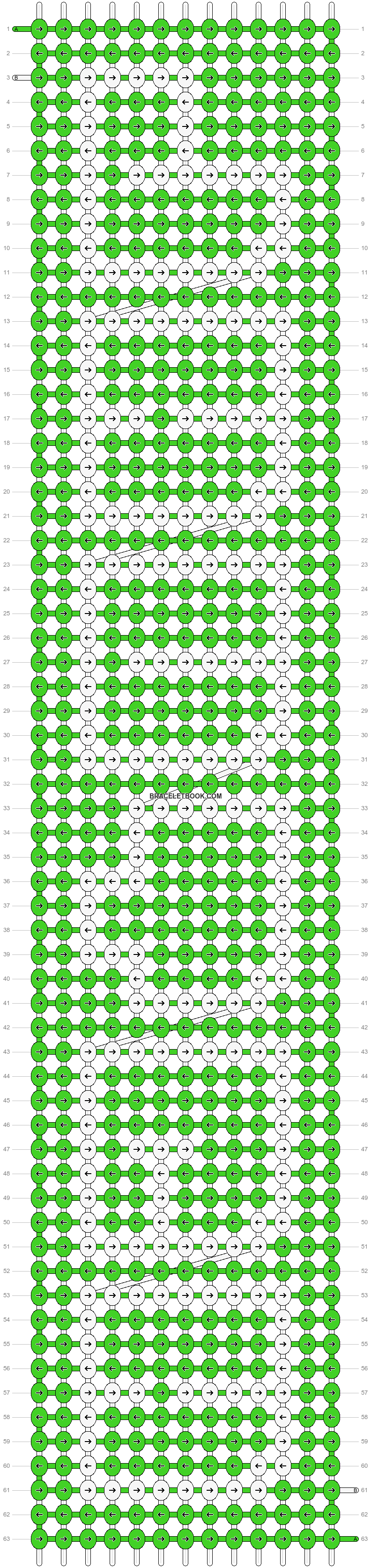 Alpha pattern #4093 pattern