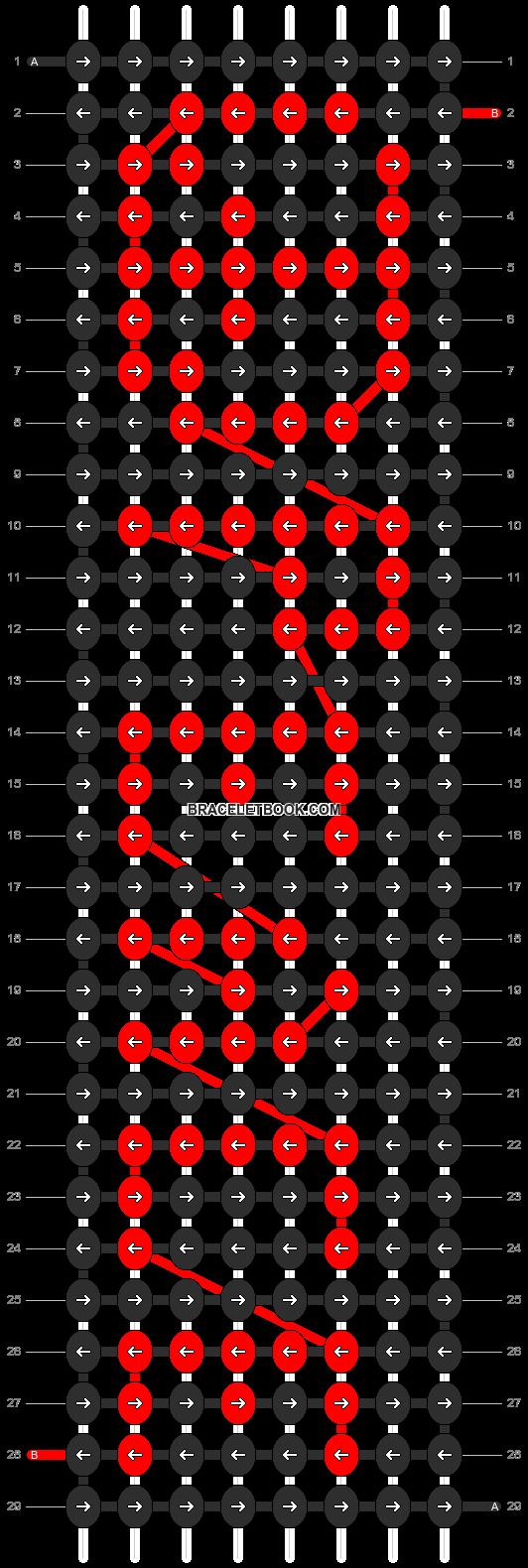 Alpha pattern #4096 pattern