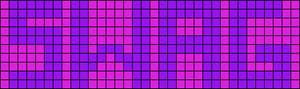 Alpha Friendship Bracelet Pattern #4104