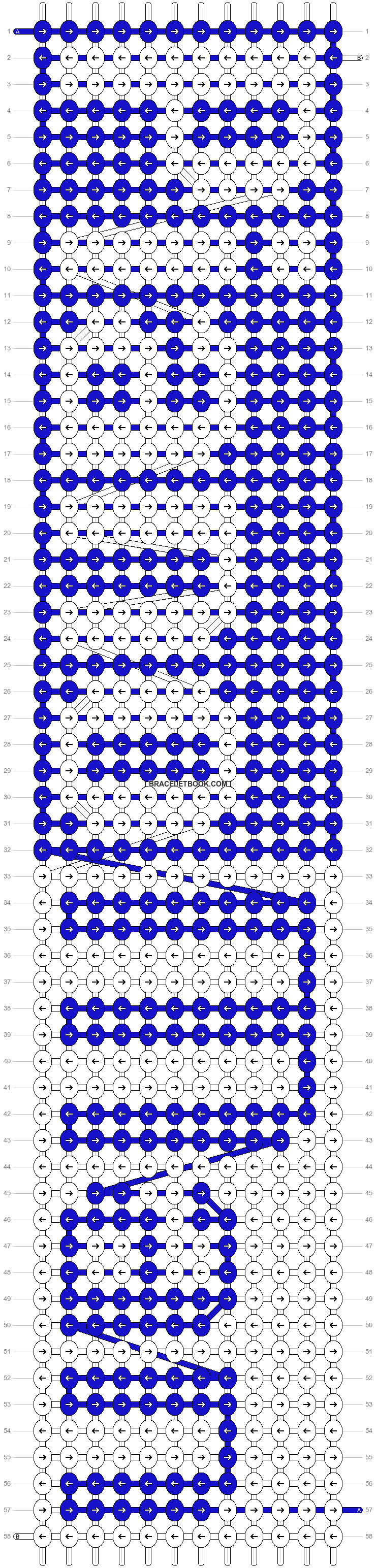Alpha pattern #4108 pattern