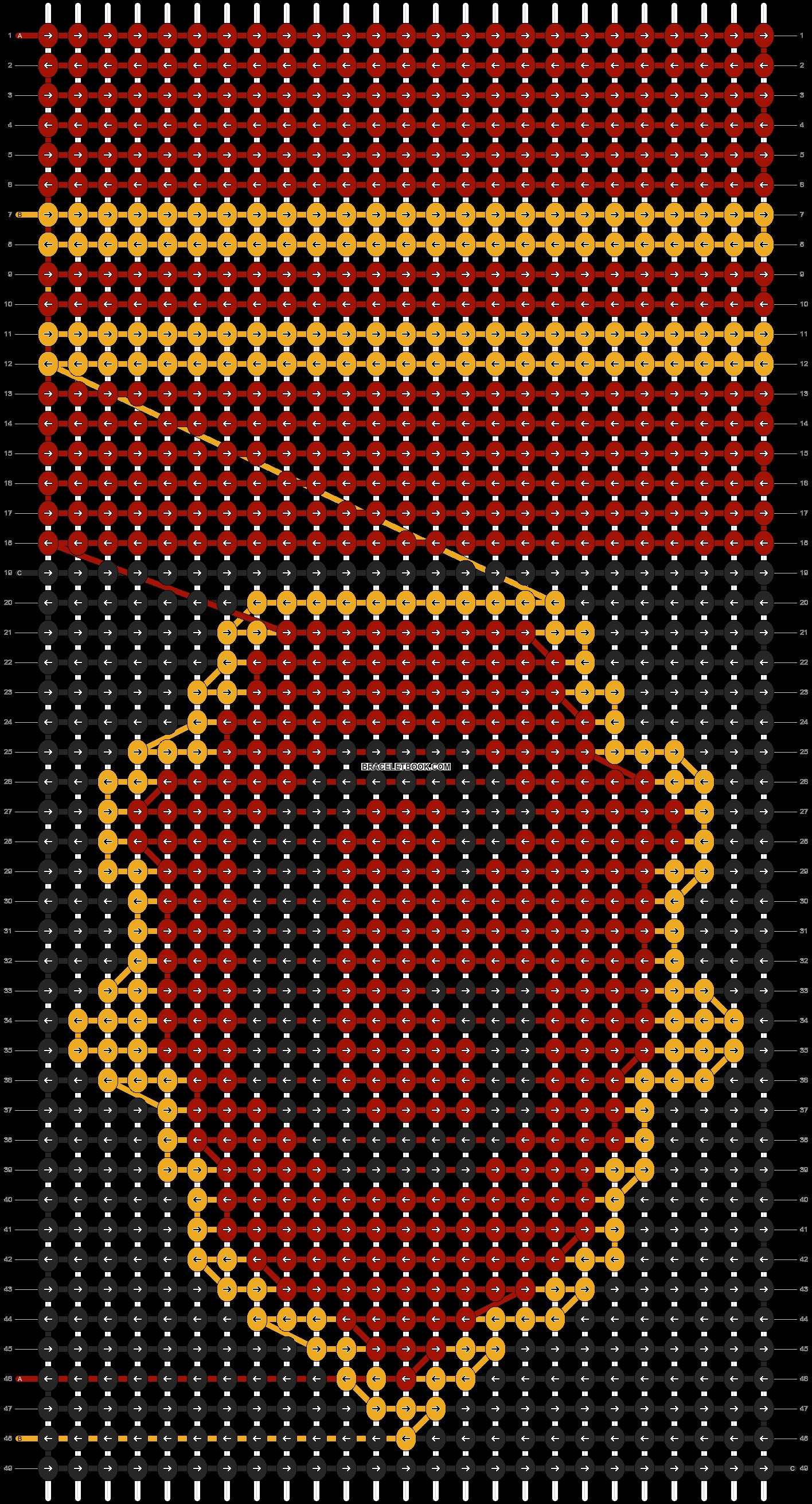 Alpha pattern #4112 pattern