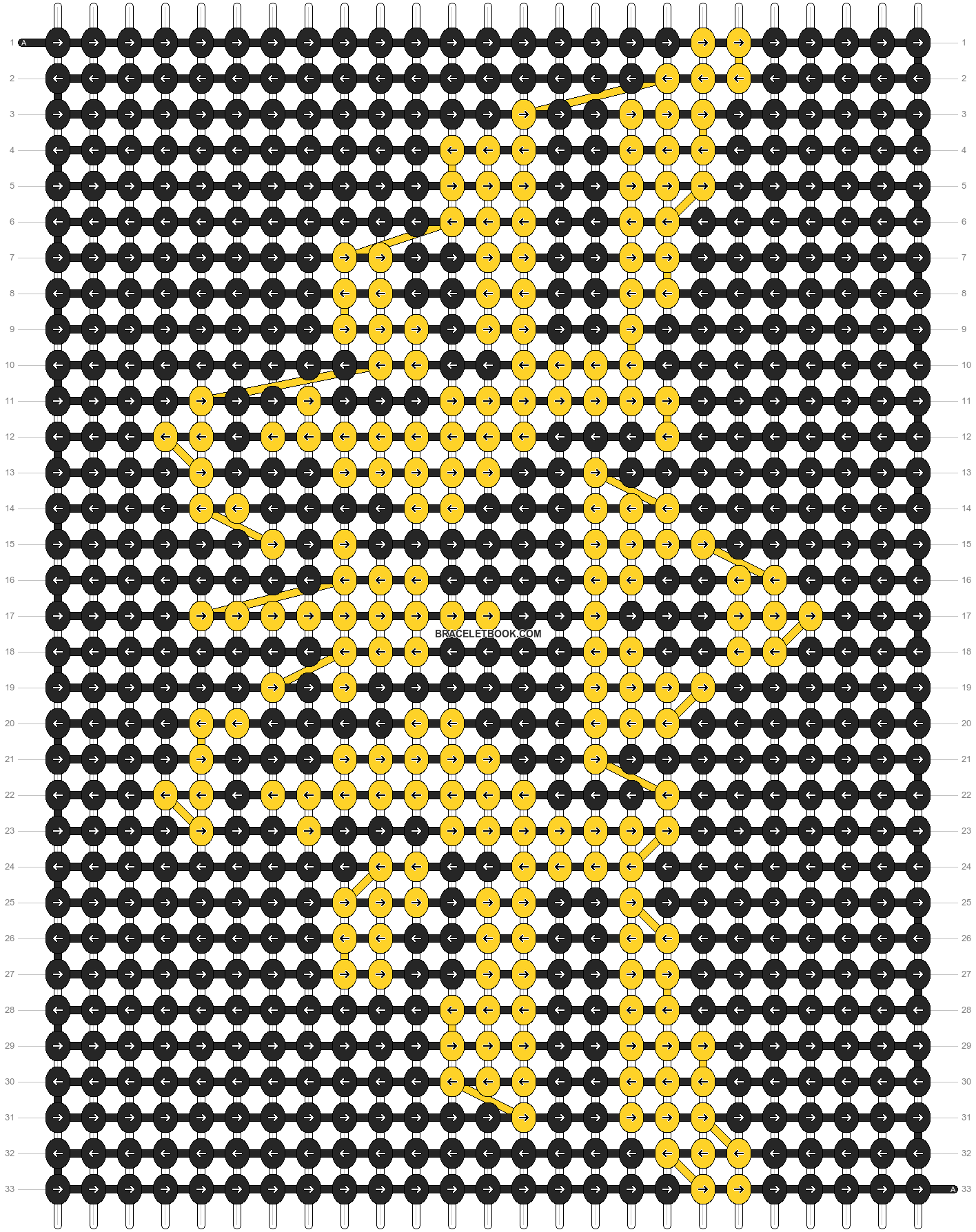 Alpha pattern #4113 pattern