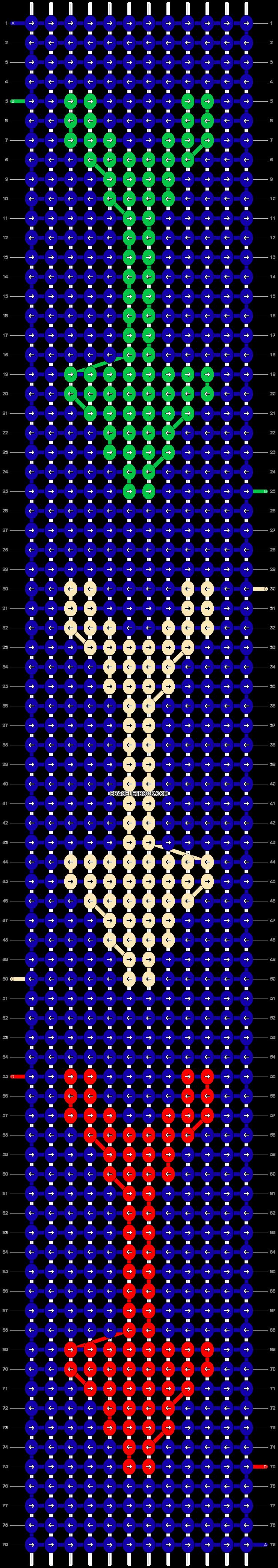 Alpha pattern #4114 pattern