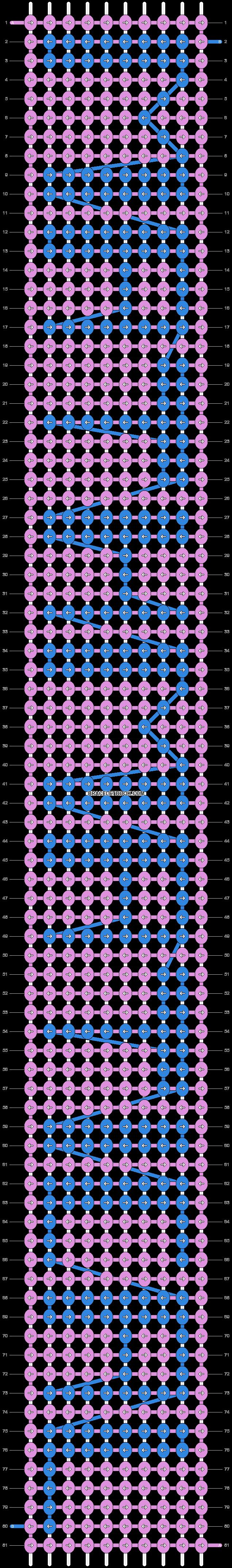 Alpha pattern #4115 pattern