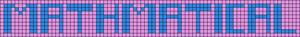 Alpha pattern #4115