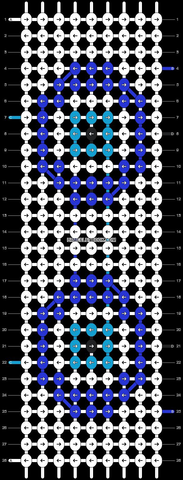 Alpha pattern #4137 pattern