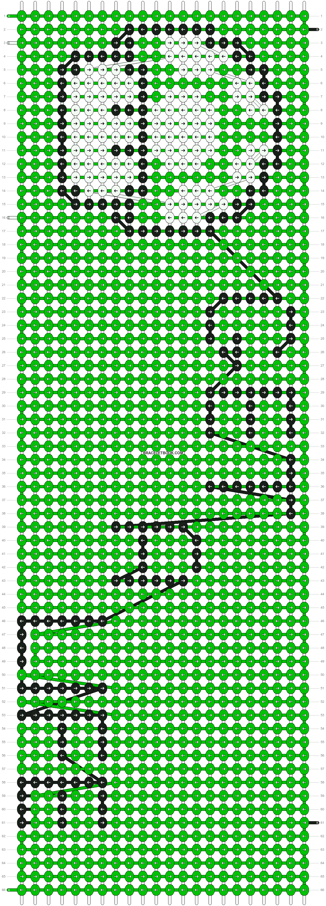 Alpha pattern #4158 pattern