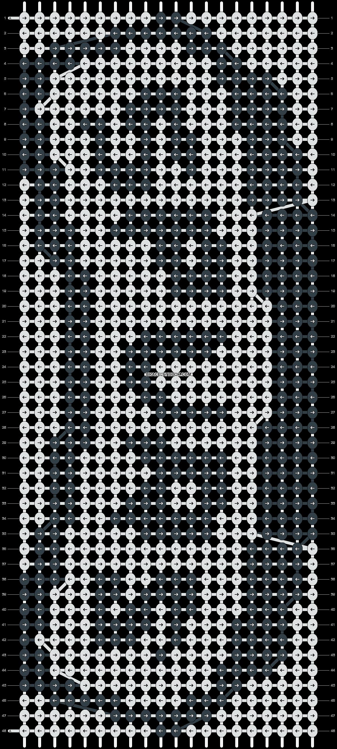 Alpha pattern #4164 pattern