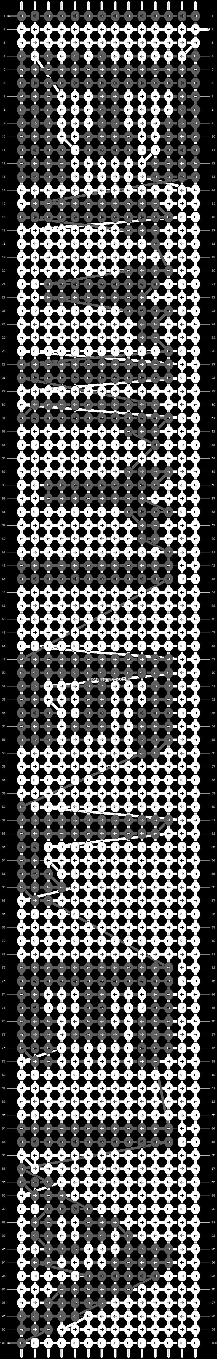 Alpha pattern #4178 pattern