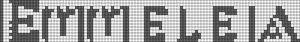 Alpha pattern #4178