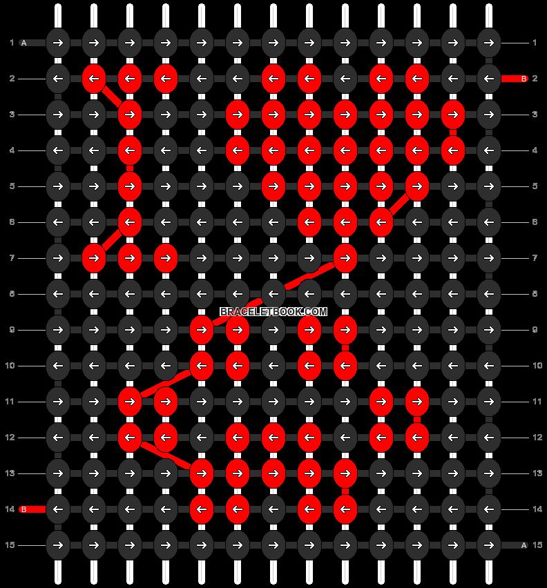 Alpha pattern #4183 pattern