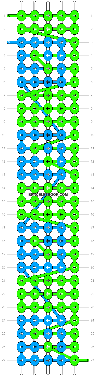 Alpha pattern #4185 pattern