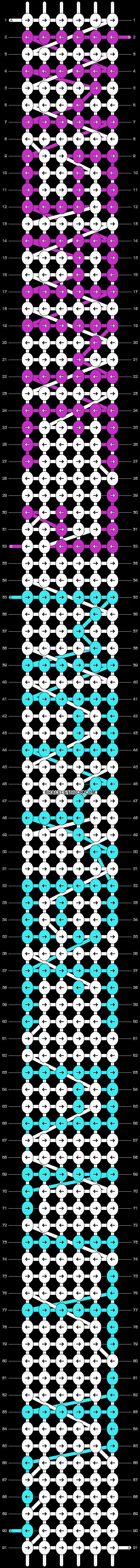 Alpha pattern #4187 pattern