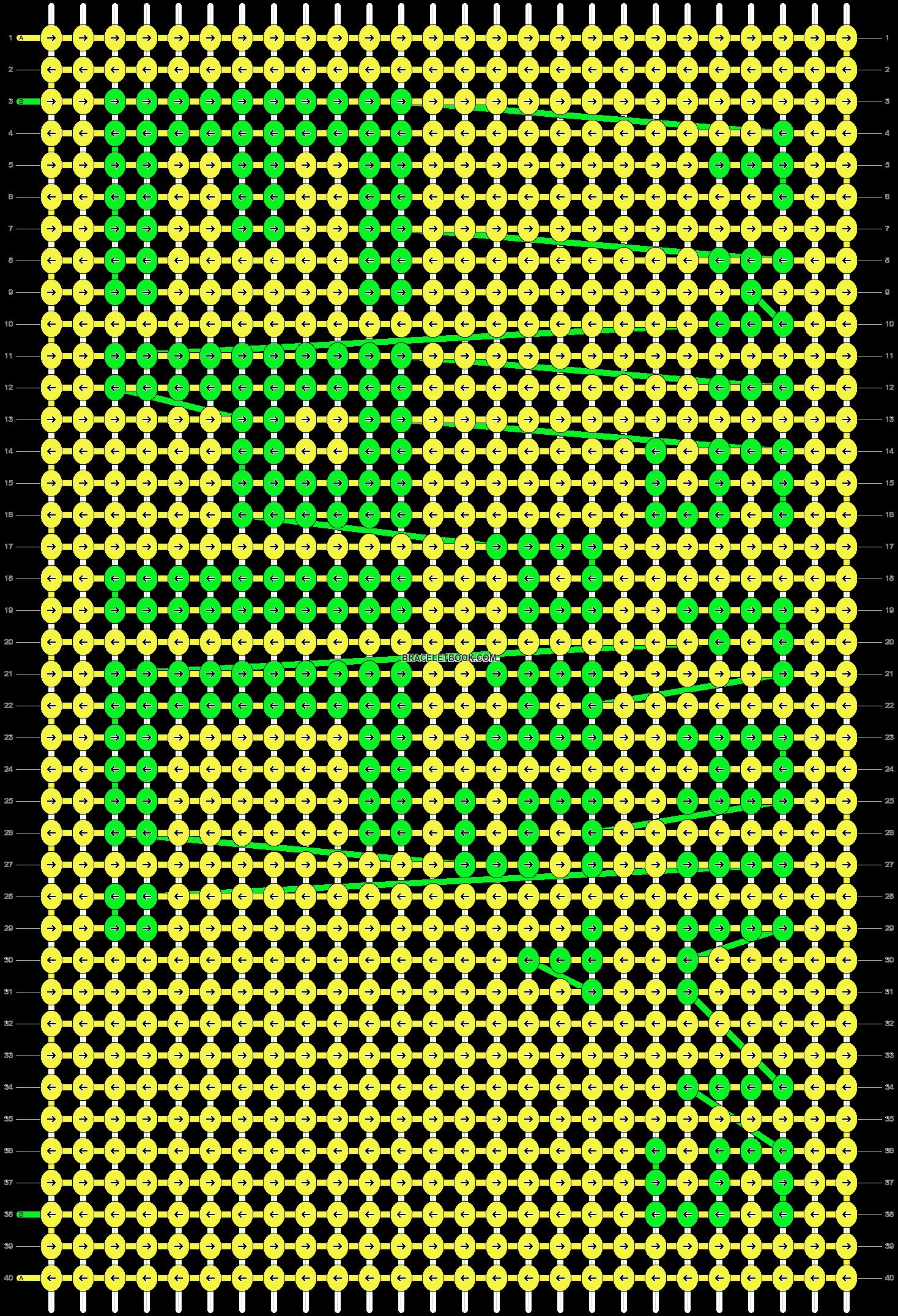 Alpha pattern #4188 pattern