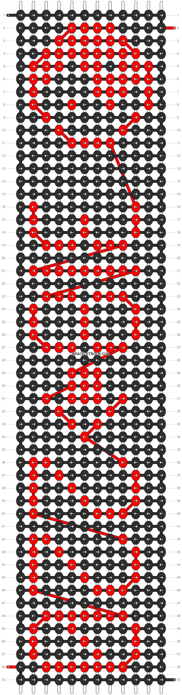 Alpha pattern #4190 pattern