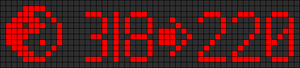 Alpha pattern #4190