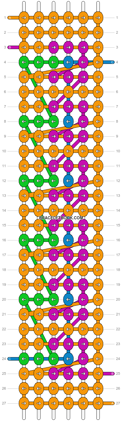 Alpha pattern #4192 pattern