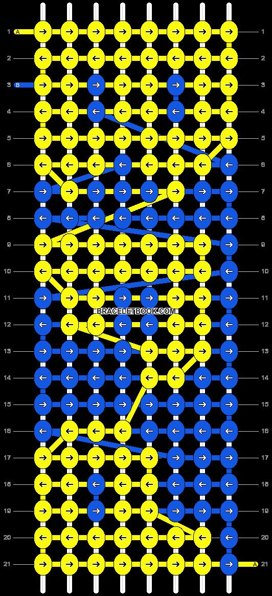 Alpha pattern #4195 pattern