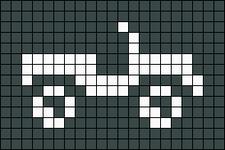 Alpha Friendship Bracelet Pattern #4198