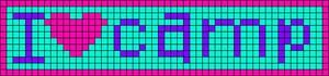 Alpha Friendship Bracelet Pattern #4201