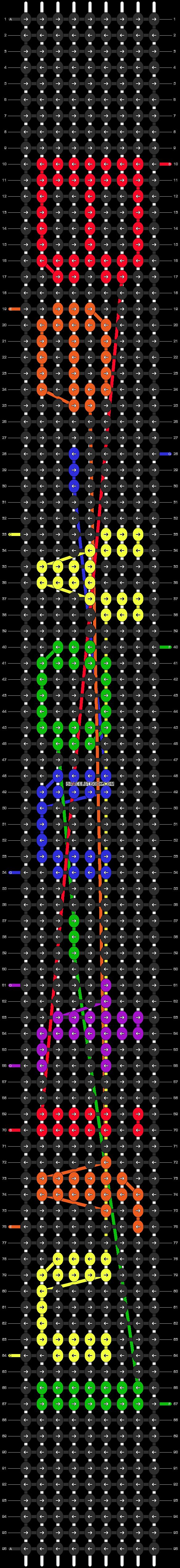 Alpha pattern #4211 pattern