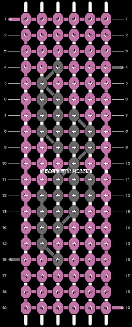 Alpha pattern #4212 pattern