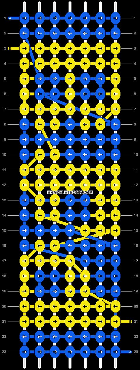 Alpha pattern #4215 pattern