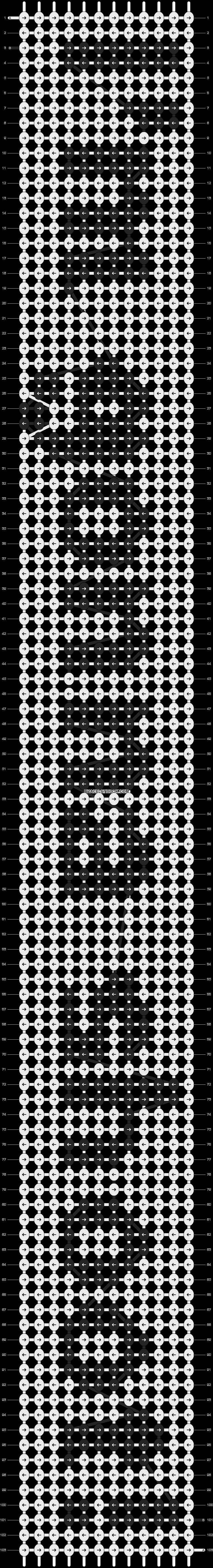 Alpha pattern #4221 pattern