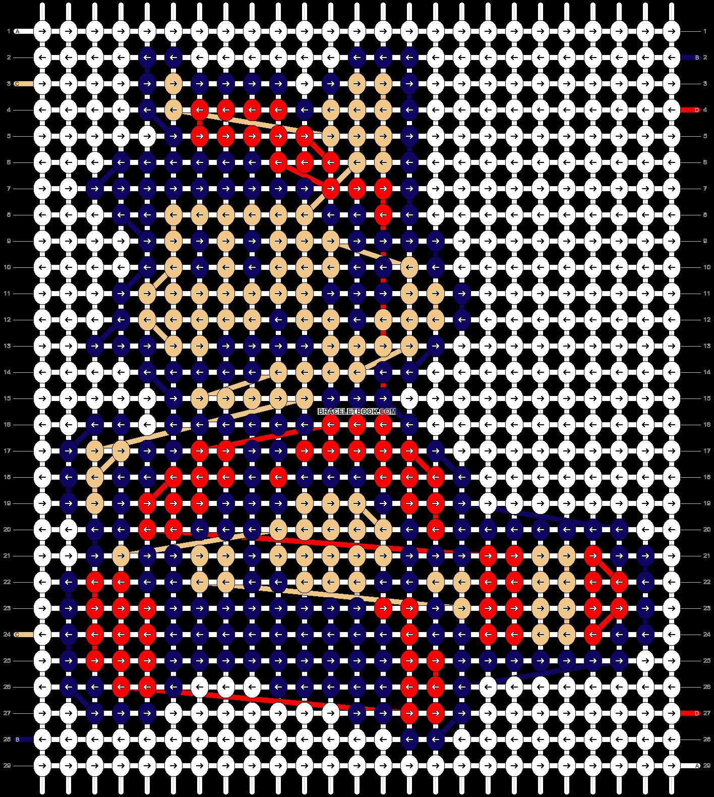 Alpha pattern #4231 pattern