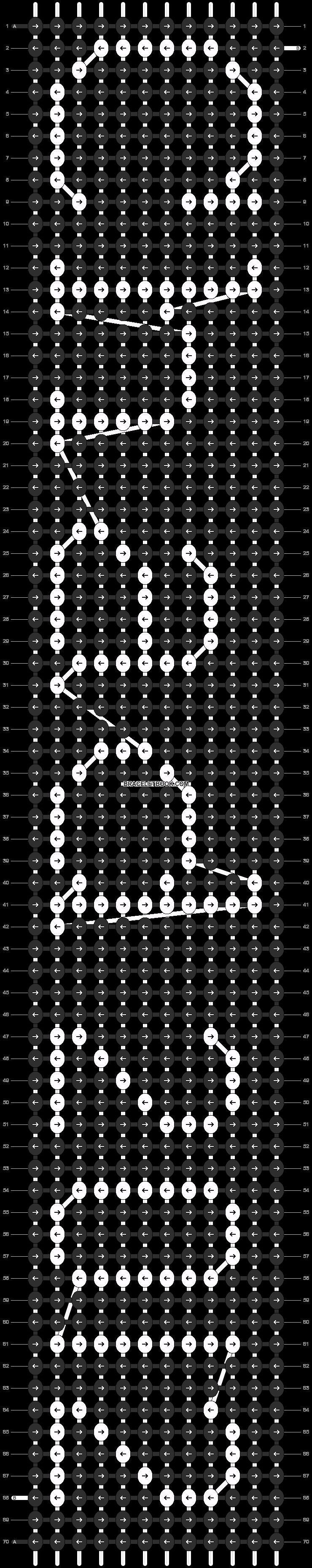 Alpha pattern #4235 pattern