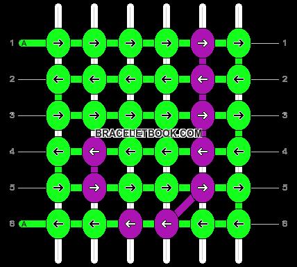 Alpha pattern #4236 pattern