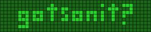 Alpha pattern #4245