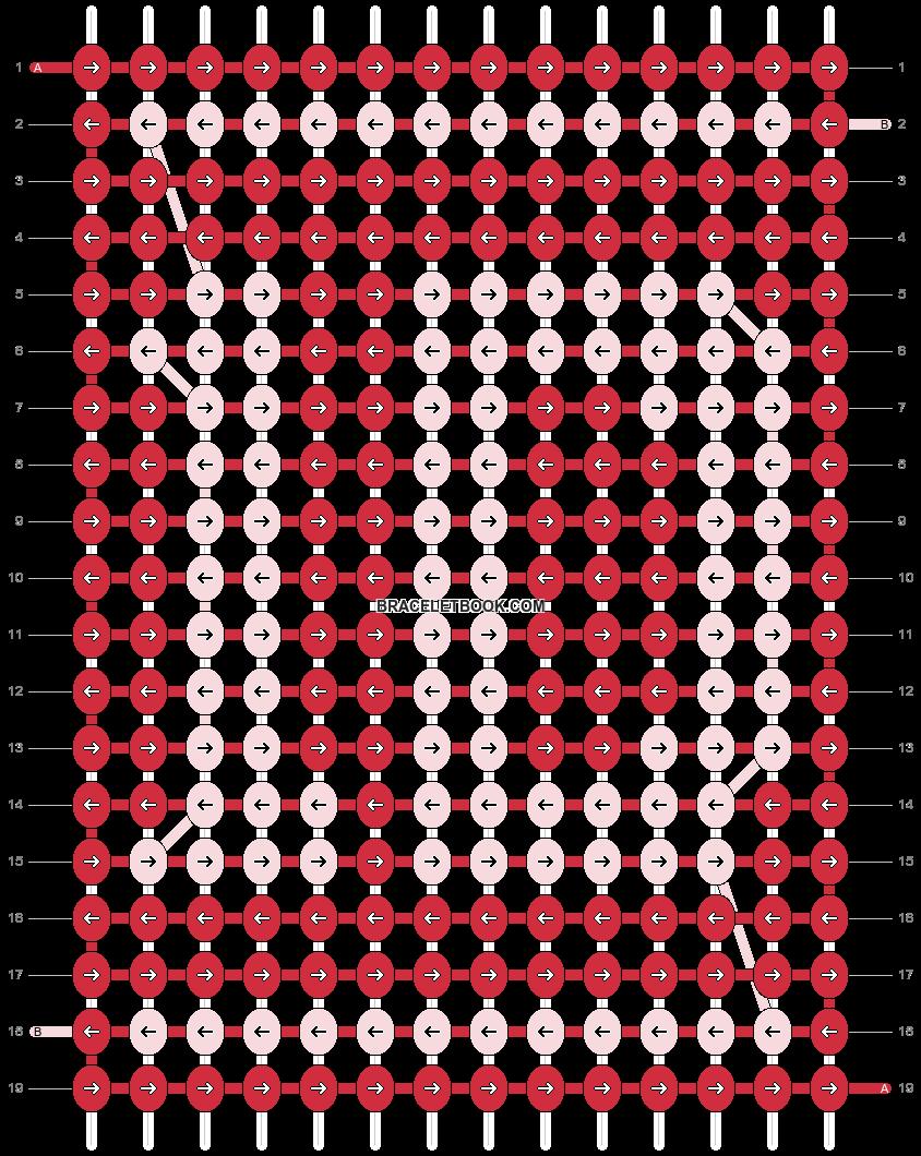 Alpha pattern #4246 pattern