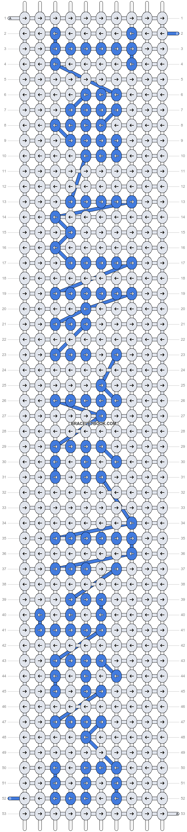 Alpha pattern #4248 pattern